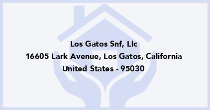 Los Gatos Snf, Llc
