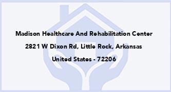 Madison Healthcare And Rehabilitation Center