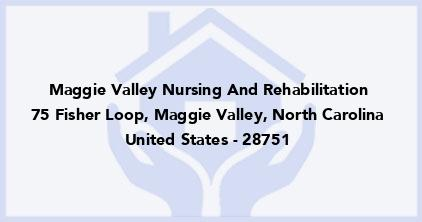 Maggie Valley Nursing And Rehabilitation