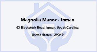 Magnolia Manor - Inman