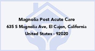 Magnolia Post Acute Care