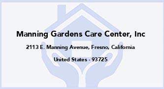 Manning Gardens Care Center, Inc