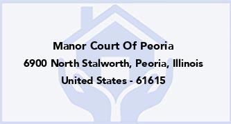 Manor Court Of Peoria