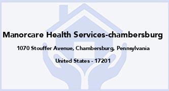 Manorcare Health Services-Chambersburg