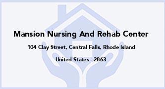Mansion Nursing And Rehab Center