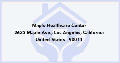 Maple Healthcare Center