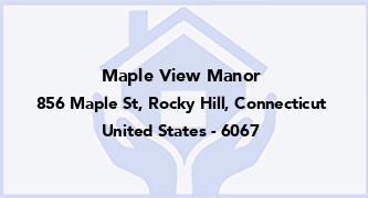Maple View Manor
