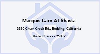 Marquis Care At Shasta