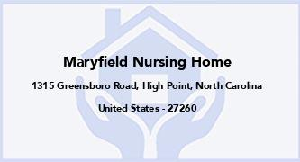 Maryfield Nursing Home