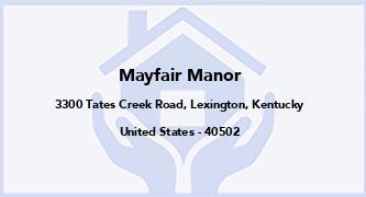 Mayfair Manor