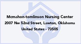 Mcmahon-Tomlinson Nursing Center