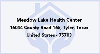 Meadow Lake Health Center