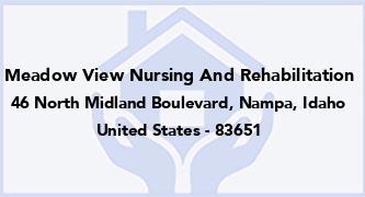 Meadow View Nursing And Rehabilitation
