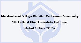 Meadowbrook Village Christian Retirement Community