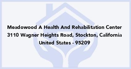 Meadowood A Health And Rehabilitation Center