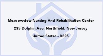 Meadowview Nursing And Rehabilitation Center