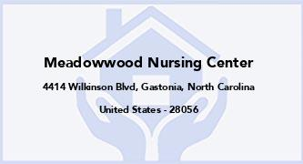 Meadowwood Nursing Center