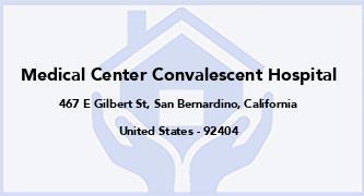Medical Center Convalescent Hospital