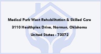 Medical Park West Rehabilitation & Skilled Care