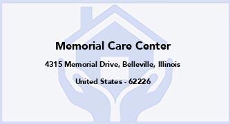 Memorial Care Center