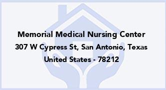 Memorial Medical Nursing Center
