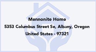 Mennonite Home