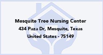 Mesquite Tree Nursing Center