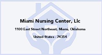 Miami Nursing Center, Llc