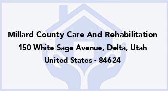 Millard County Care And Rehabilitation