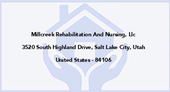 Millcreek Rehabilitation And Nursing, Llc