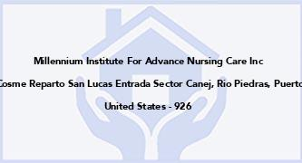 Millennium Institute For Advance Nursing Care Inc