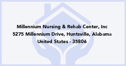 Millennium Nursing & Rehab Center, Inc
