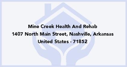 Mine Creek Health And Rehab