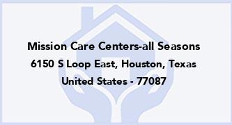 Mission Care Centers-All Seasons