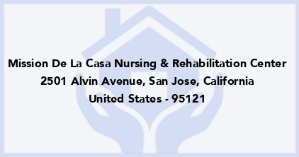 Mission De La Casa Nursing & Rehabilitation Center