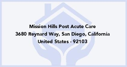 Mission Hills Post Acute Care