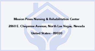 Mission Pines Nursing & Rehabilitation Center