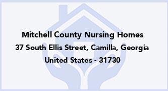 Mitchell County Nursing Homes