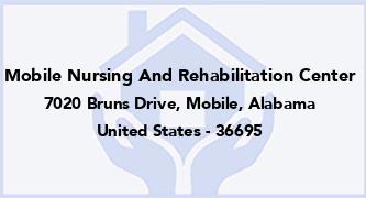 Mobile Nursing And Rehabilitation Center