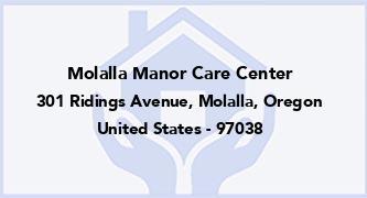 Molalla Manor Care Center