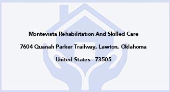 Montevista Rehabilitation And Skilled Care