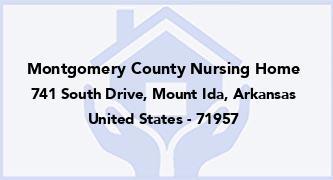 Montgomery County Nursing Home