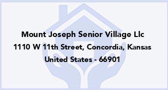 Mount Joseph Senior Village Llc