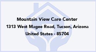 Mountain View Care Center