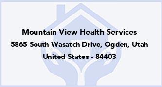 Mountain View Health Services