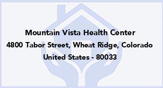 Mountain Vista Health Center
