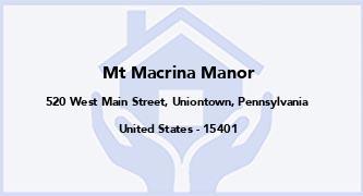Mt Macrina Manor