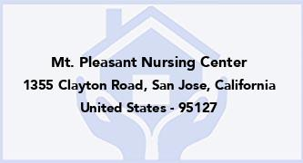 Mt. Pleasant Nursing Center