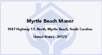 Myrtle Beach Manor