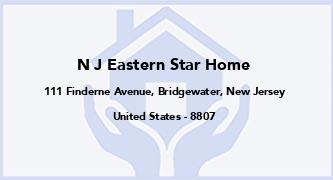 N J Eastern Star Home